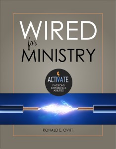 "Cover of ""Wired for Ministry"" book"